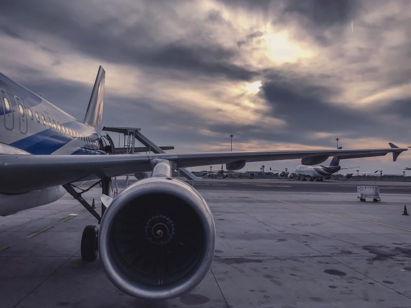 Frete aéreo internacional