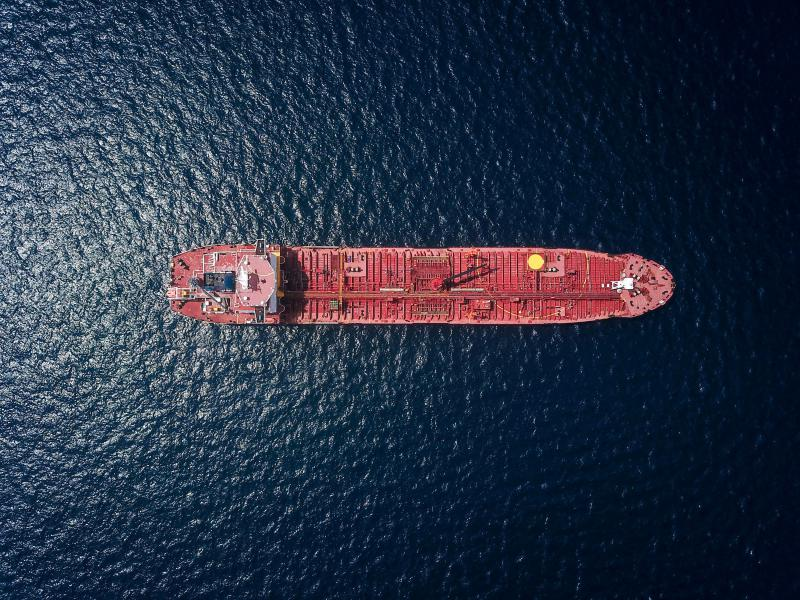 Frete marítimo internacional