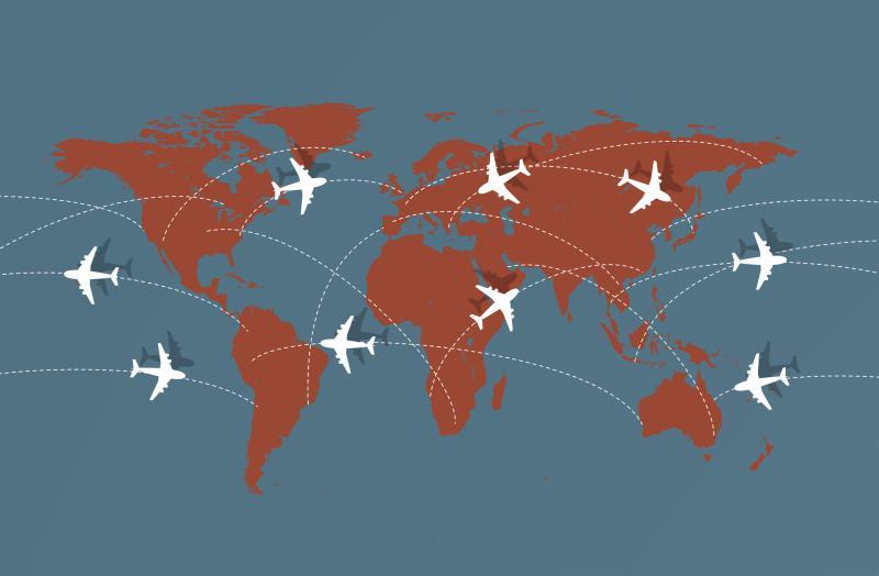 Carga aérea internacional