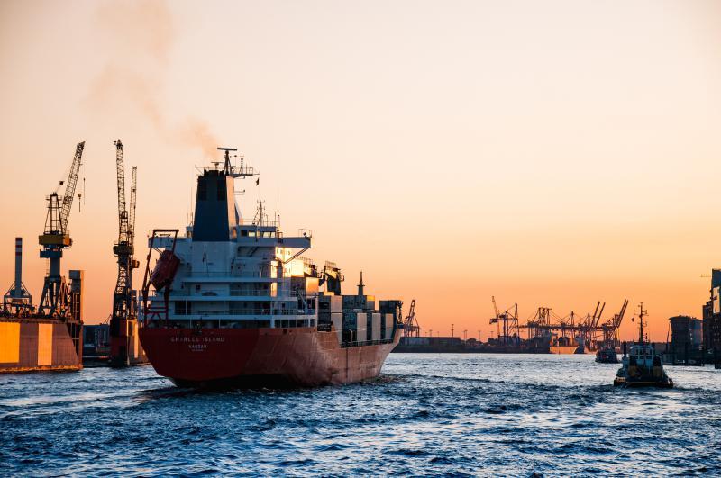 Empresa de frete marítimo